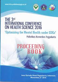 Proceeding book The 3rd international conference on health science 2016
